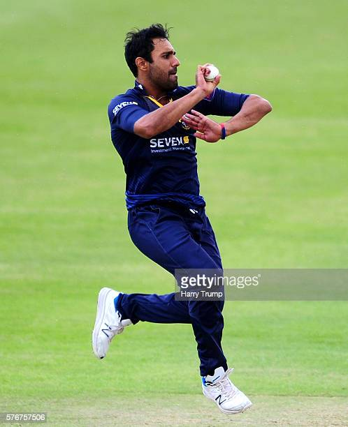 Ravi Bopara of Essex during the Natwest T20 Blast match between Gloucestershire and Essex at The College Ground on July 17 2016 in Cheltenham England