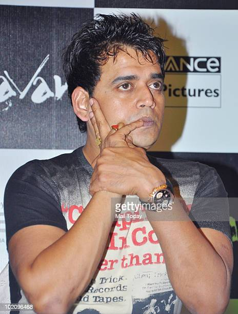 Ravi Kissen at a promotional event for the film Raavan in Mumbai on June 12 2010