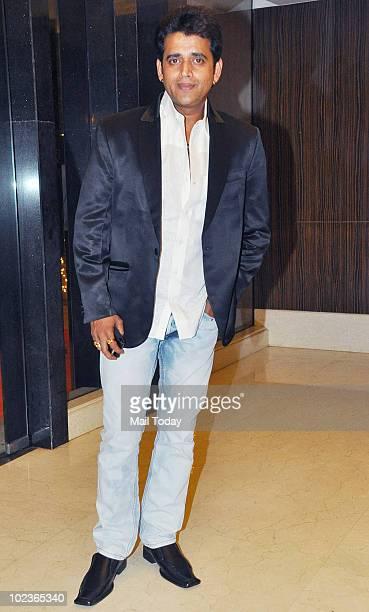 Ravi Kissen at the success party of the film Rajneeti in Mumbai on June 23 2010