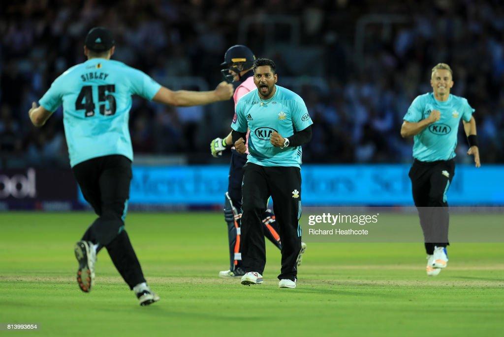 Middlesex v Surrey - NatWest T20 Blast