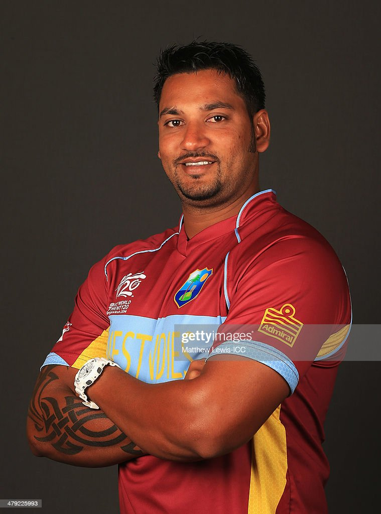 West Indies Headshots - ICC World Twenty20 Bangladesh 2014
