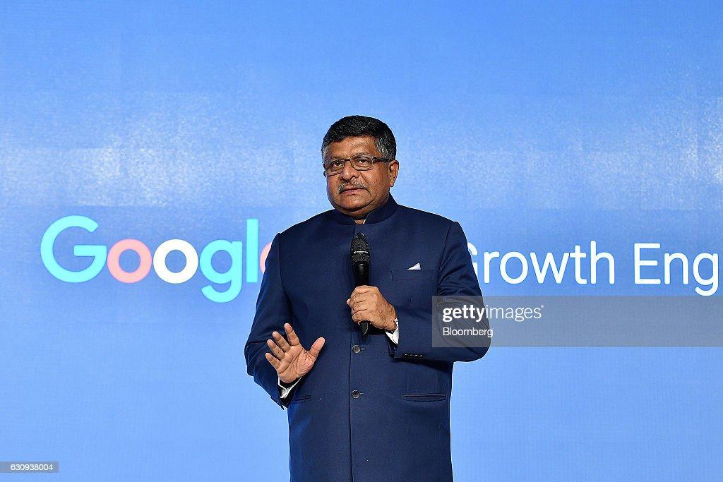 Google Inc. CEO Sundar Pichai News Conference