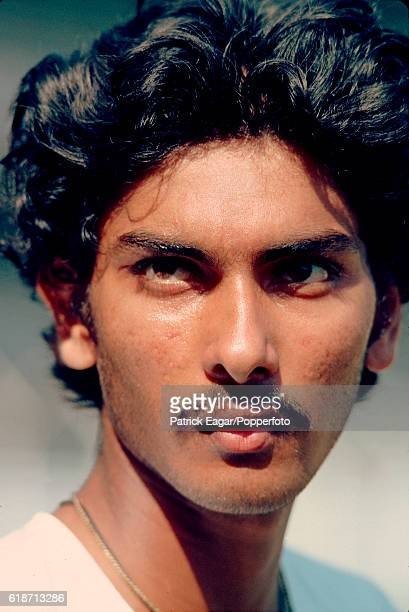 Ravi Shastri of India at Bombay during England's tour of india 26th November 1981