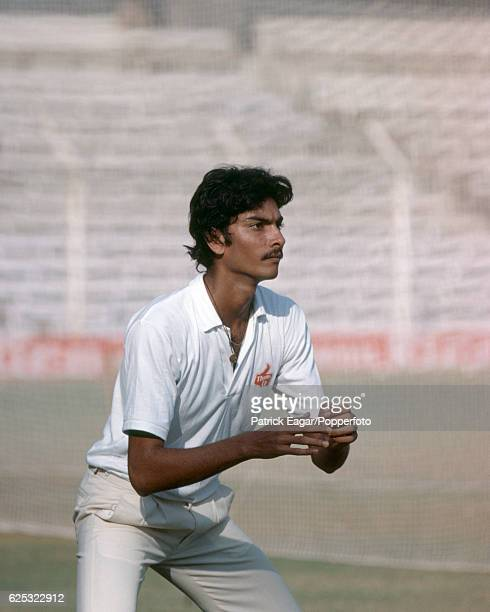 Ravi Shastri of India before the 1st Test match between India and England at Wankhede Stadium Bombay India 26th November 1981