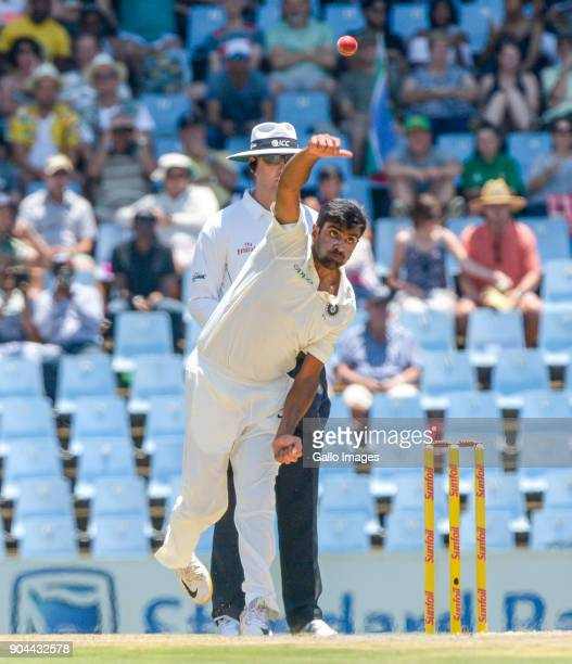 Ravichandra Ashwin of India during day 1 of the 2nd Sunfoil Test match between South Africa and India at SuperSport Park on January 13 2018 in...