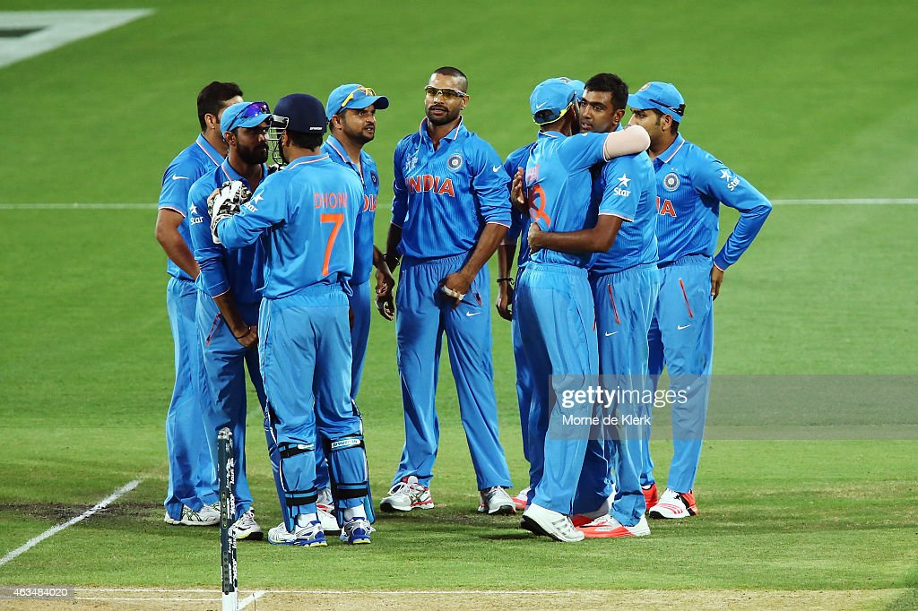 India v Pakistan - 2015 ICC Cricket World Cup : News Photo