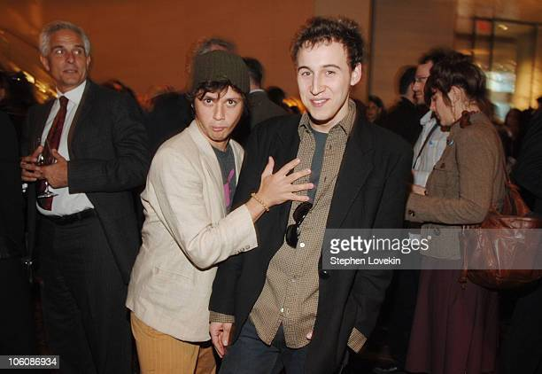Raviv 'Ricky' Ullman and Avi Setton during 5th Annual Tribeca Film Festival The Big Bad Swim Reception at Mo Bar at The Mandarin Oriental in New York...