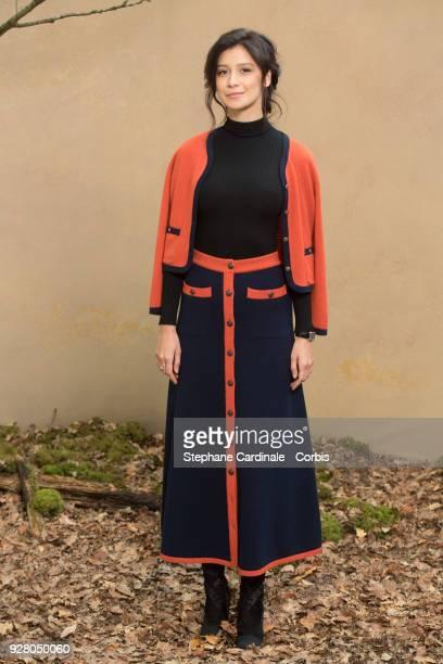 Ravshana Kurkova attends the Chanel show as part of the Paris Fashion Week Womenswear Fall/Winter 2018/2019 on March 6 2018 in Paris France