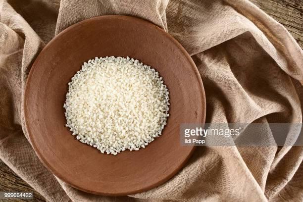 Raw Arborio Risotto Rice
