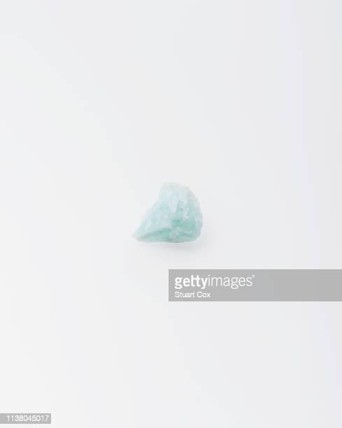 Raw blue beryl