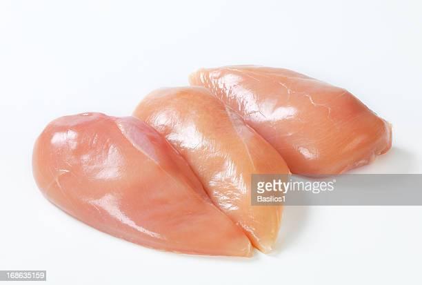 rohe hähnchenbrust - huhn geflügelfleisch stock-fotos und bilder