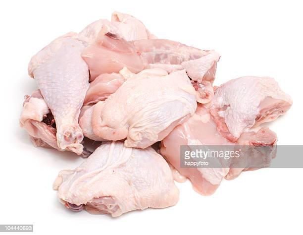 Carne de frango crua