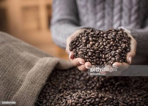 Materias primas café