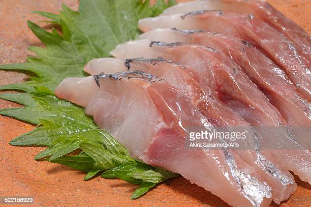 raw fish - trachurus japonicus stock pictures, royalty-free photos & images
