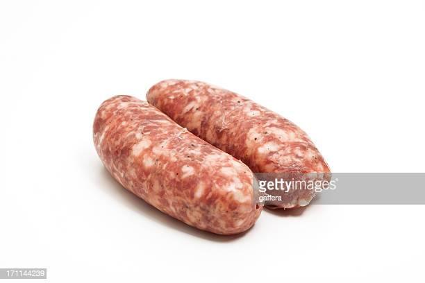 raw italian sausages