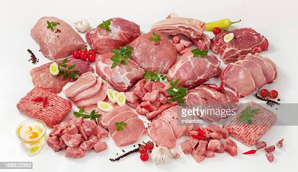 生肉の詰め合わせ