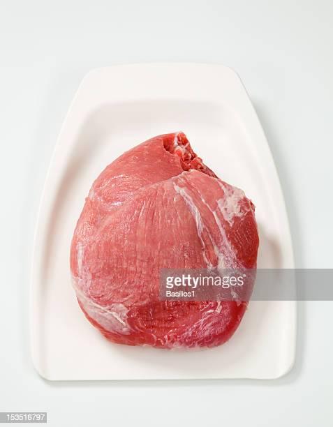Raw Schweinesteak aus der Schulter