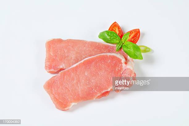 raw pork tenderloin - pork stock pictures, royalty-free photos & images