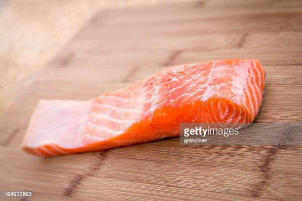 raw salmon - redfish stock photos and pictures