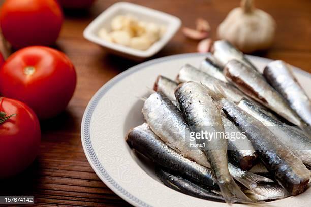 Materias primas sardines