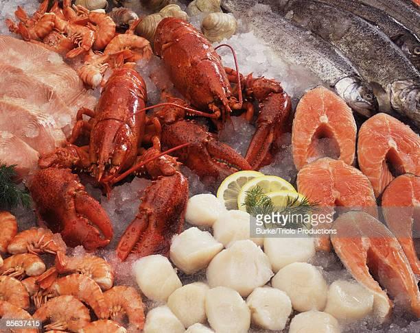 Raw seafood