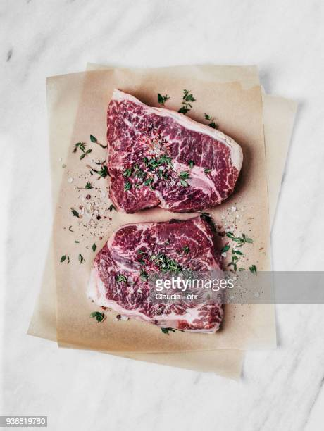 raw steak - meat stock pictures, royalty-free photos & images