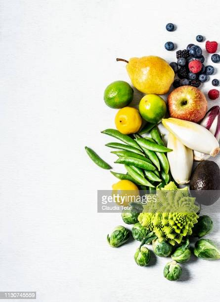 raw vegetables and fruits - freshness fotografías e imágenes de stock