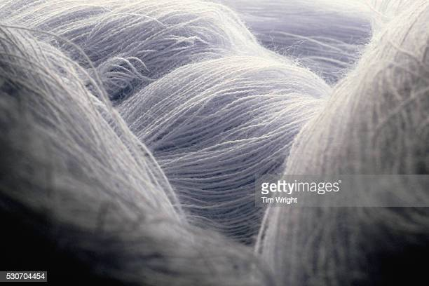 raw yarn fibers - wool stock pictures, royalty-free photos & images