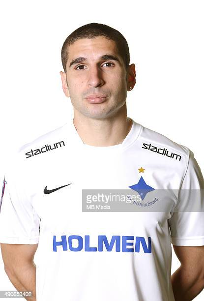 Rawez Lawan of IFK Norrkoping poses during a portrait session on Februray 25 2015 in NorrkopingSweden