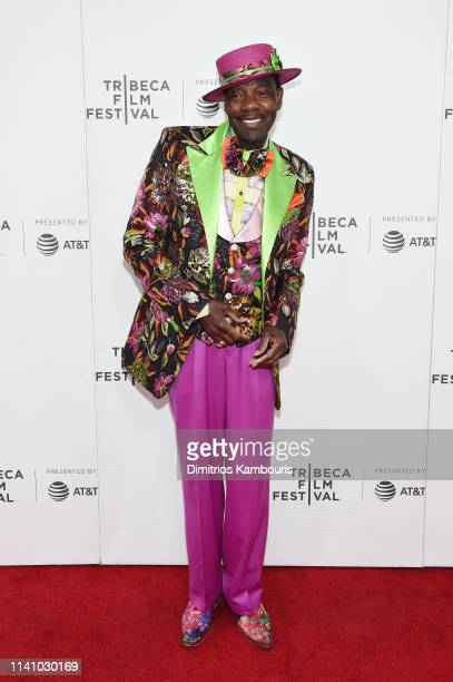 """Rawlston Charles attends the """"Charlie's Records"""" screening during the 2019 Tribeca Film Festival at Village East Cinema on May 3, 2019 in New York..."""