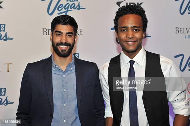 Ray Ablack and Dalmar Abuzeid attend Vegas Forever at Uniun Nightclub on May 9 2013 in Toronto Canada