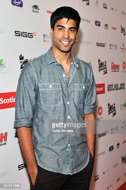 Ray Ablack attends the Rising Stars 2012 Producers Ball during the 2012 Toronto International Film Festival on September 5 2012 in Toronto Canada