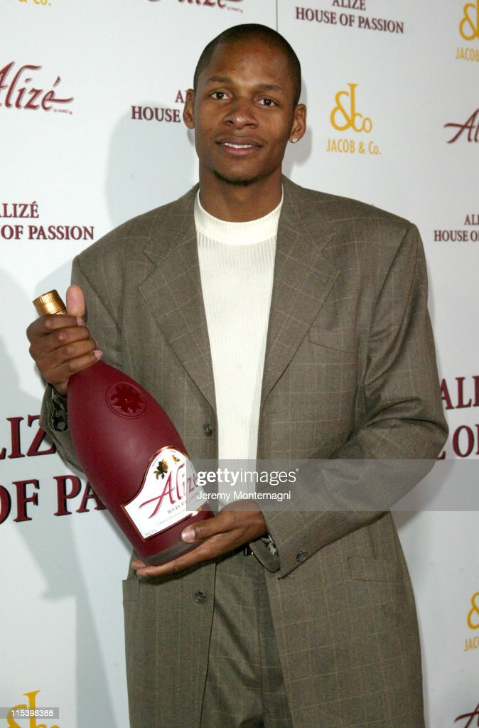 Ray Allen during Alize House of Passions - Arrivals at Playboy Mansion in Bel Air, California, United States.