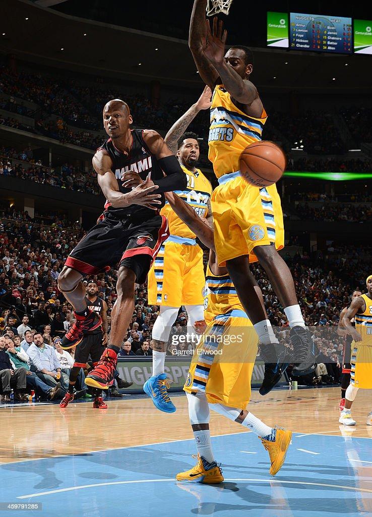 Miami Heat v Denver Nuggets : News Photo