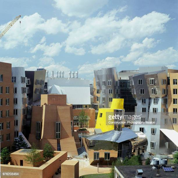 Ray and Maria Stata Center at Massachusetts Institute of Technology by architect Frank O Gehry The $300 million000squarefoot project was completed in...