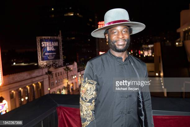Ray Angry arrives at 17th Annual Oscar-Qualifying HollyShorts Film Festival Opening Night at Japan House Los Angeles on September 23, 2021 in Los...