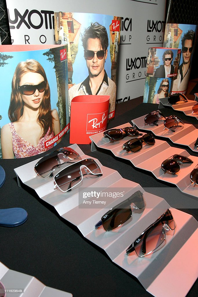 57a0ff0288 Ray Ban sunglasses at the Luxottica Group Lounge at the Stuff Style ...
