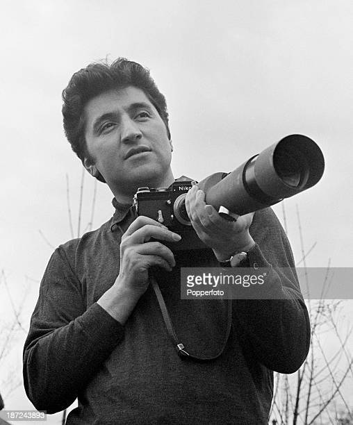 Ray Bellisario one of the first photographers to take unofficial and informal photographs of the Royal Family pictured with his camera and modified...