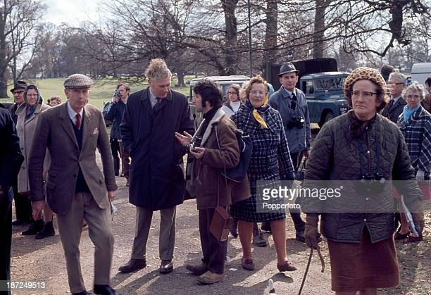 Ray Bellisario one of the first photographers to take unofficial and informal photographs of the Royal Family being 'moved on' by Chief Inspector...