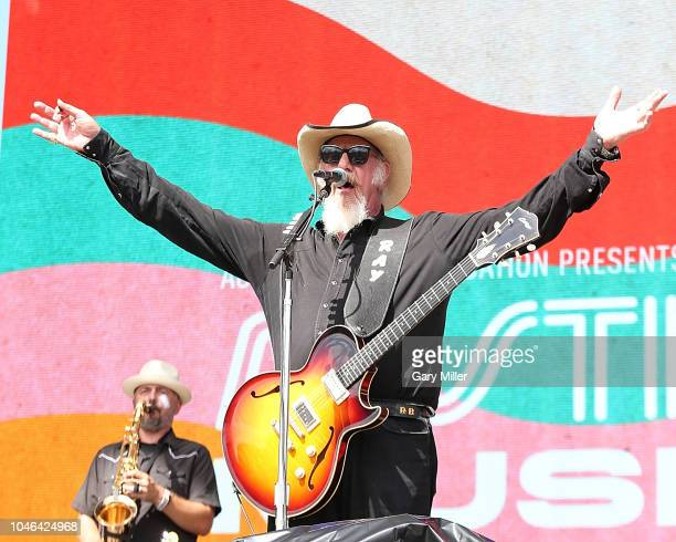 Ray Benson of Asleep At The Wheel performs in concert during the first day of ACL Festival at Zilker Park on October 5, 2018 in Austin, Texas.