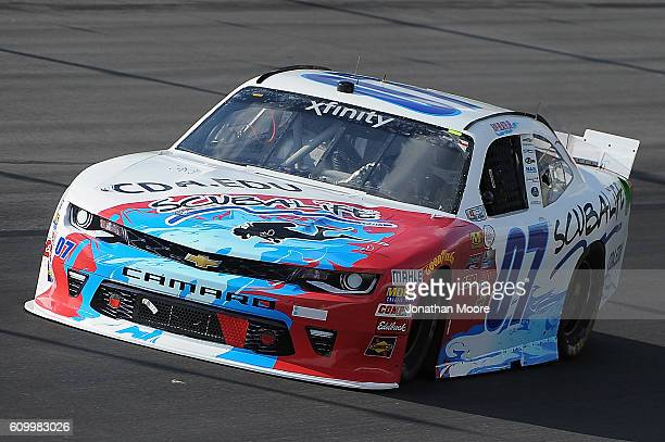 Ray Black Jr driver of the Scuba Life Chevrolet on track during practice for the NASCAR XFINITY Series VysitMyrtleBeachcom 300 at Kentucky Speedway...