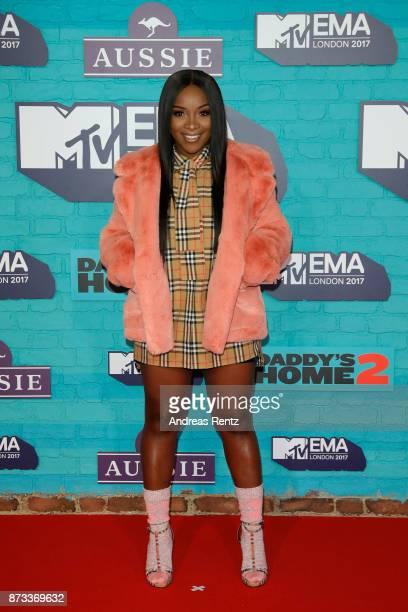 Ray BLK attends the MTV EMAs 2017 held at The SSE Arena Wembley on November 12 2017 in London England