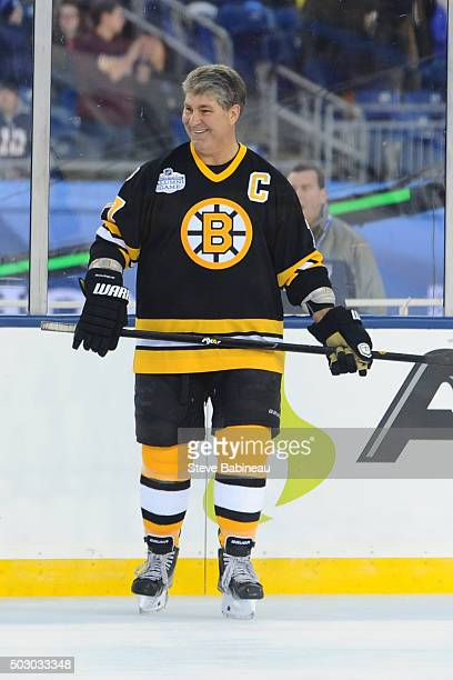 Ray Bourque before the alumni game against the Montreal Canadiens on December 31 2015 during 2016 Bridgestone NHL Winter Classic at Gillette Stadium...