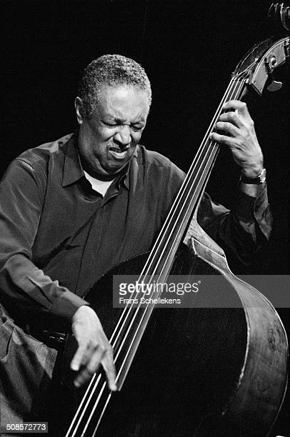 Ray Brown bass performs at the BIM Huis on 27th April 1996 in Amsterdam Netherlands