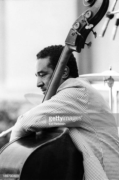 Ray Brown performs during the Berkeley Jazz Festival at the Greek Theatre in May 1978 in Berkeley California