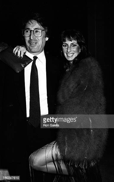 Ray Buktenica and actress Karen Salkin attend the opening of GrownUps on March 24 1983 at the Mark Taper Forum in Los Angeles California