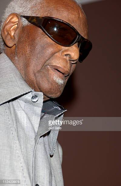 Ray Charles during Ray Charles to be Named LA's 'Cultural Treasure' at African American Museum in Los Angeles California United States