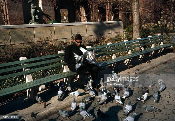 Ray Charles in Central Park New York City