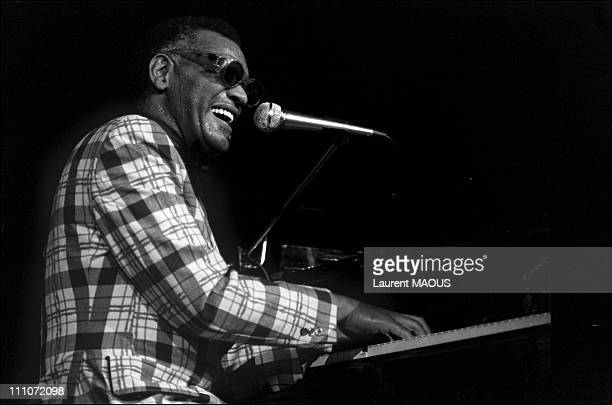 Ray Charles In Concert At The Salle Pleyel In Paris France On March 01 1972