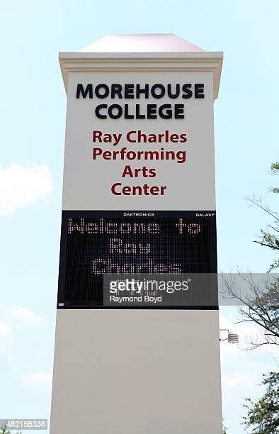 Ray Charles Performing Arts Center at Morehouse College on July 18 2015 in Atlanta Georgia